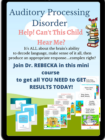 Auditory Processing Disorder Mini course