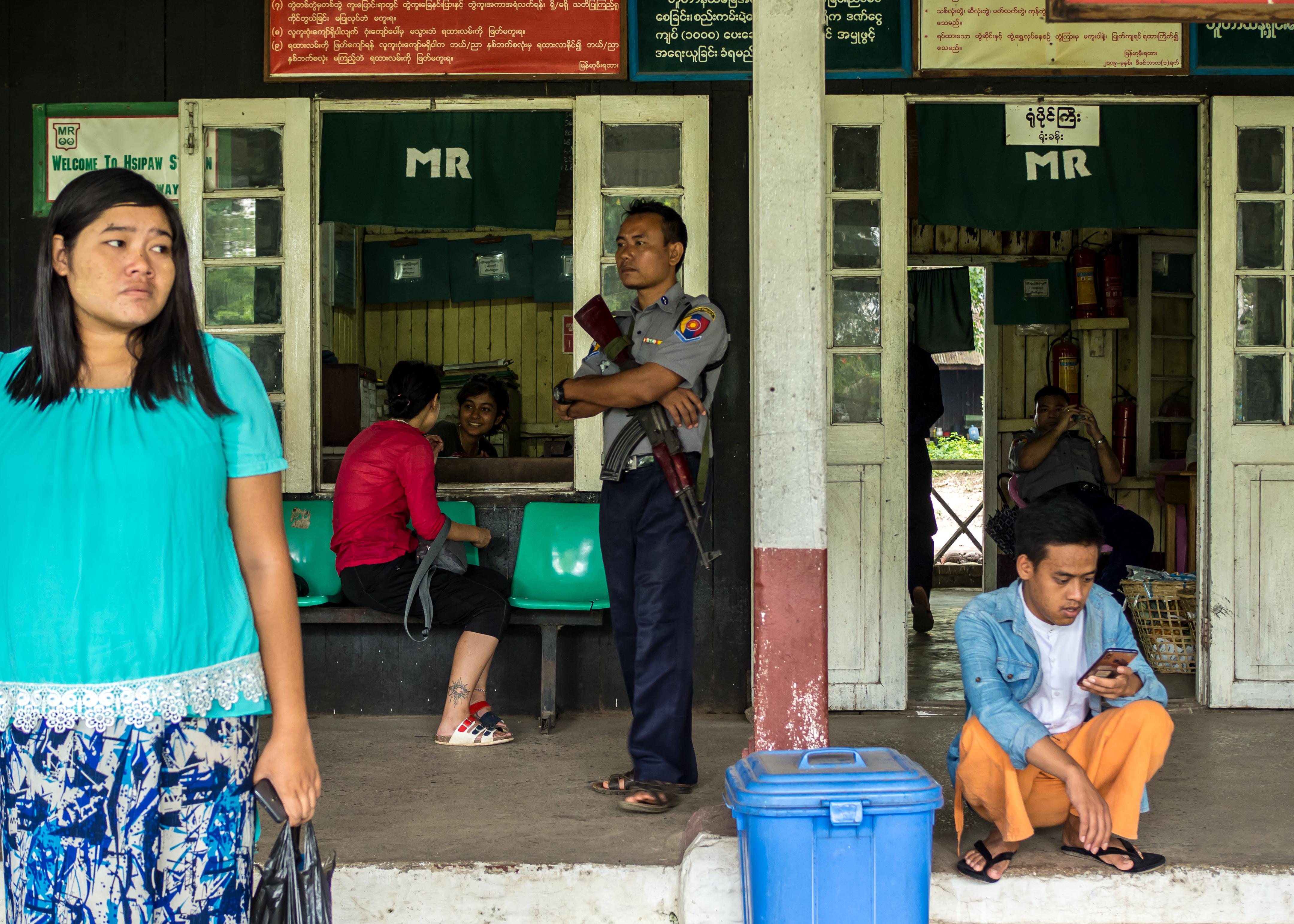 Myanmar rail