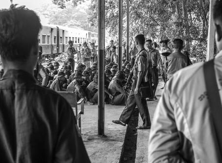 Myanmar - The train to Mandalay