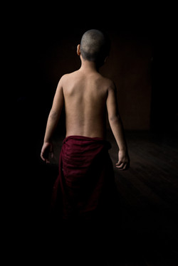 The novice monk