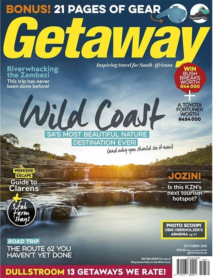 Getaway Magazine October