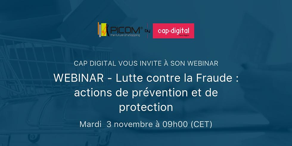 WEBINAR - Lutte contre la Fraude : actions de prévention et de protection