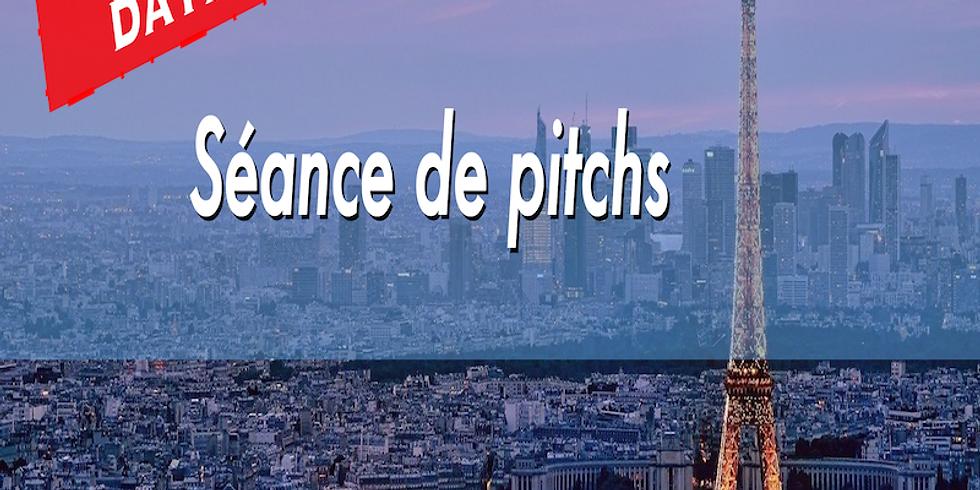 Séance de pitchs - Paris Business Angels