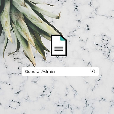 General Administrative Tasks