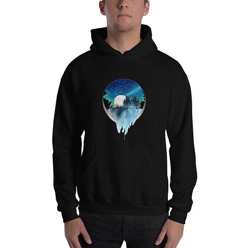 Unisex Hoodie - Moon Falls