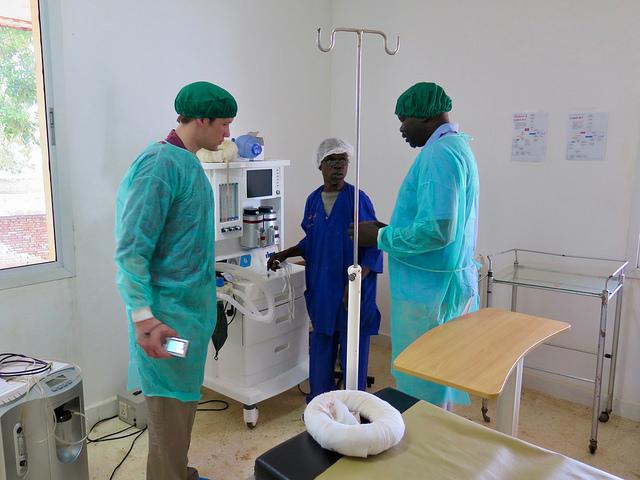 South Sudan hospital visit