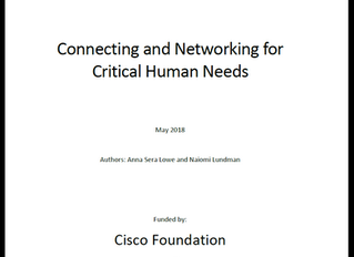 Full Report: Connecting & Networking for Critical Human Needs