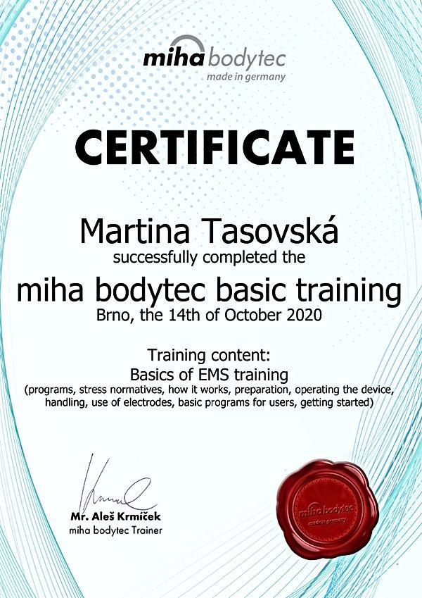 Certificate_Miha_Bodytec_Martina_Tasovsk