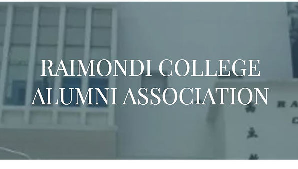 Alumni Manager Election of Raimondi College Alumni Association