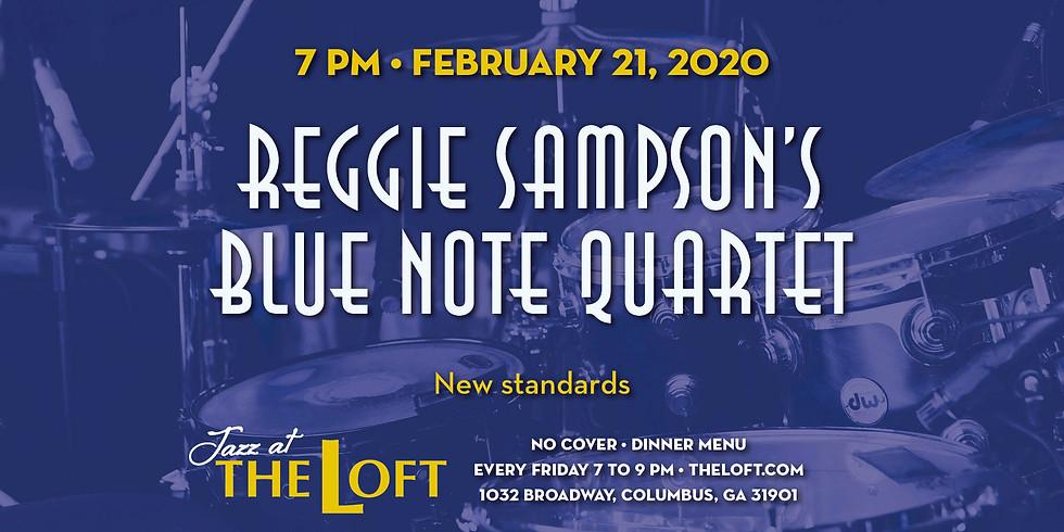 Jazz@TheLoft Presents Reggie Sampson's Blue Note Quartet