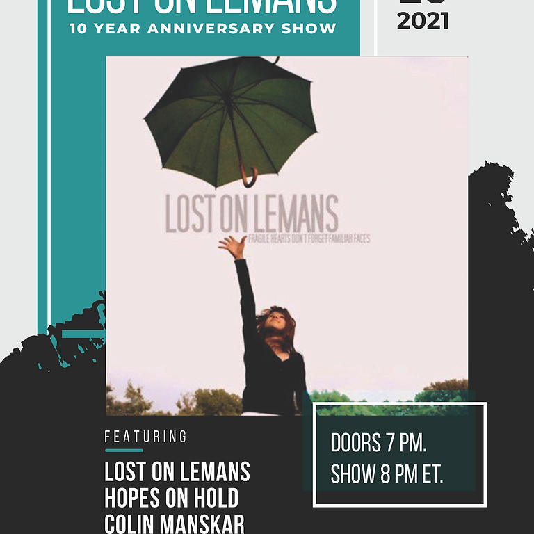 Lost on Lemans 10 Year Anniversary Show