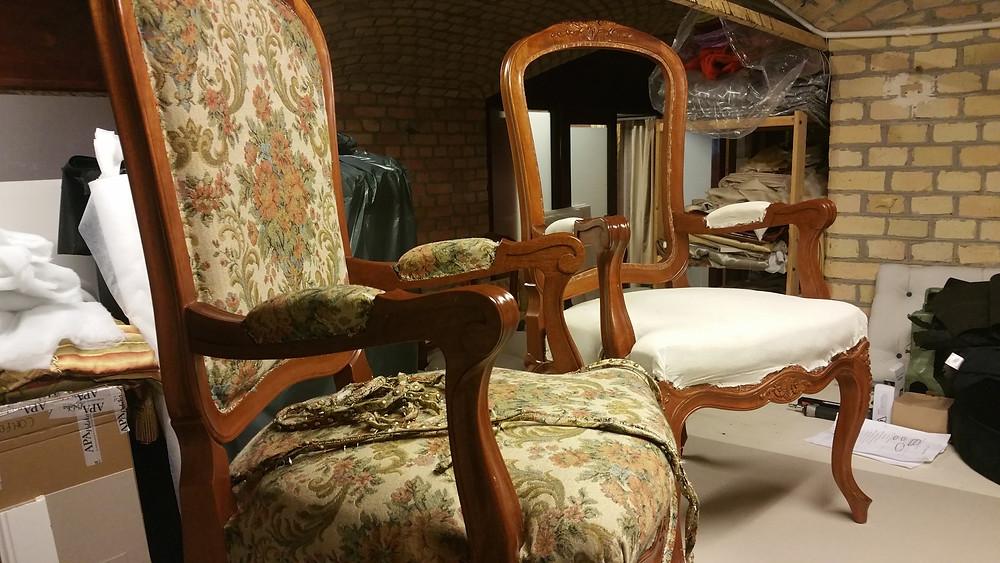 Zmiana tapicerki krzeseł