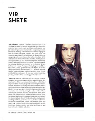 Platform Magazine, March 2015.