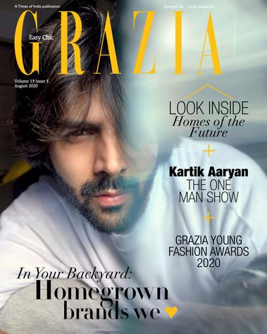 Grazia India, August 2020.