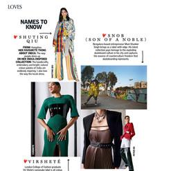 Vogue India, April 2020.