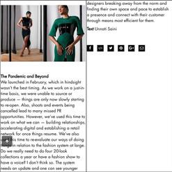 Platform Magazine, August 2020.