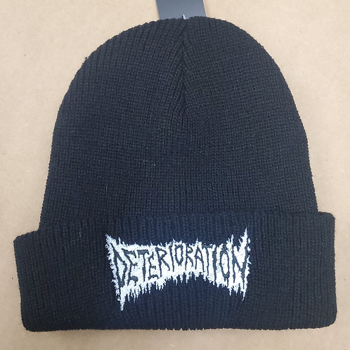 Deterioration - Black Beanie