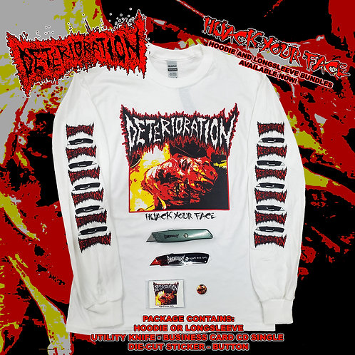 Deterioration - Hijack Your Face LONGSLEEVE Bundle