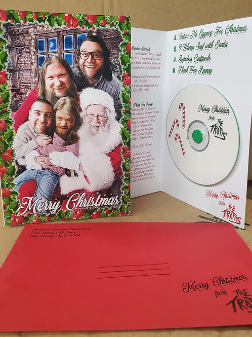 Merry Christmas from The Trotts CD/Christmas Card