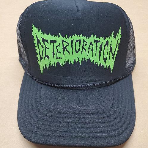 Black Hat w/ Green Logo