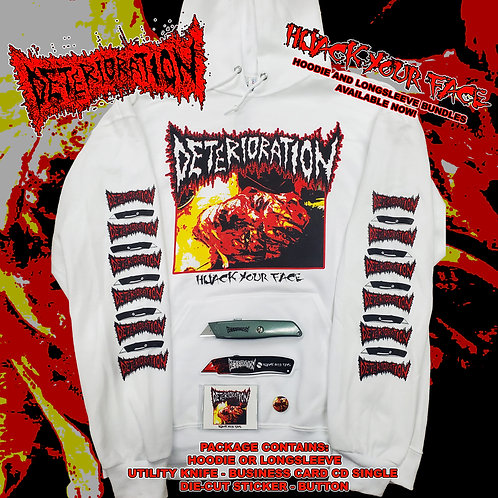 Deterioration - Hijack Your Face HOODIE Bundle