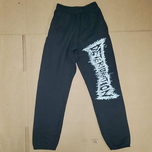 Deterioration Sweatpants (Black)