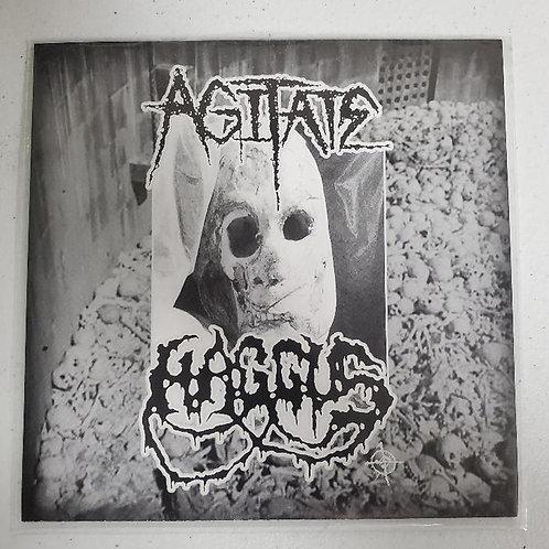 """Agitate/Haggus split 7"""""""