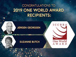 ICCBBA ONE WORLD AWARD RECIPIENTS - 2019
