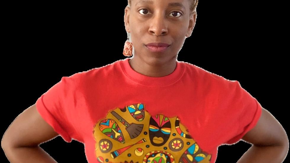 Africa T-shirt - Mask
