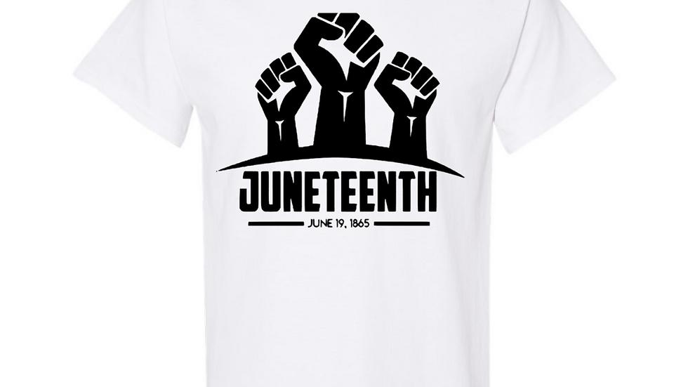 Juneteenth Fist T-shirt Alternate Colors