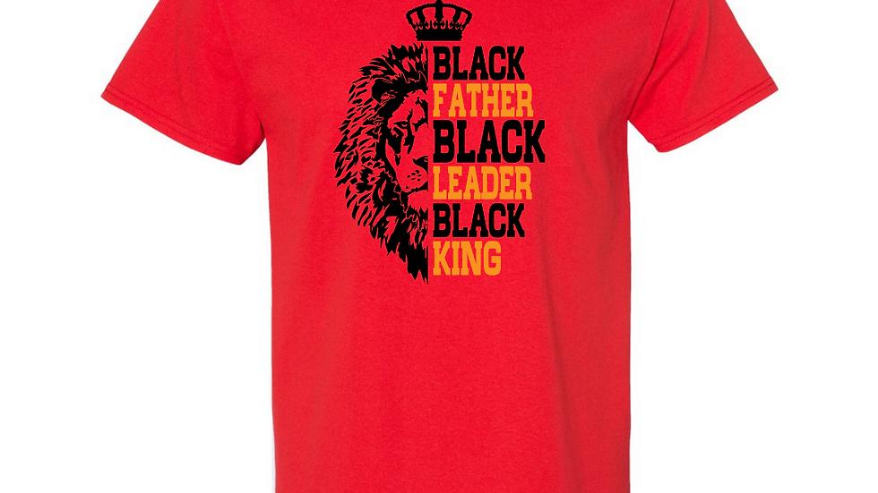 Black Father Leader King T-shirt