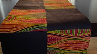 Kona and Red Table Runner