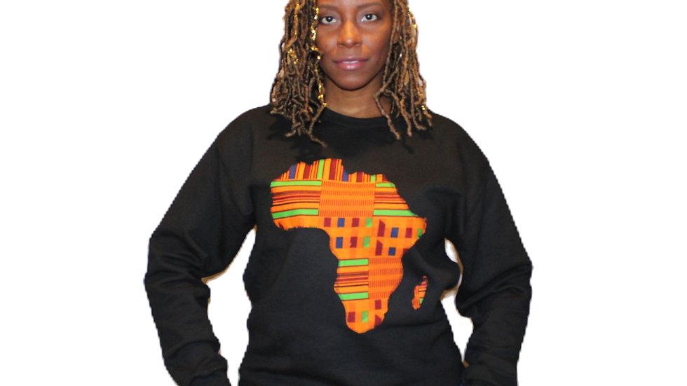 Africa Crewneck - Kente