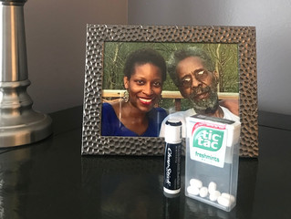 Chapstick & TicTac Treasures (AKA Reflecting on my dad. Not a day goes by...)