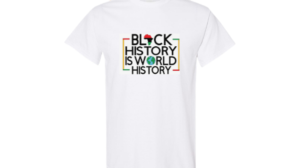 Black History is World History Tee