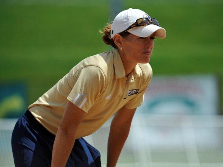 College softball coach Julie Jones