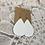 Thumbnail: White Faux Leather Earrings