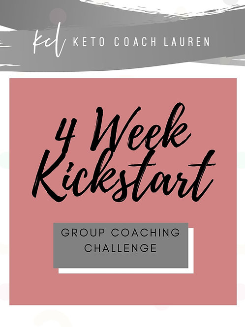 4 Week Group Coaching Entry - August 2nd START