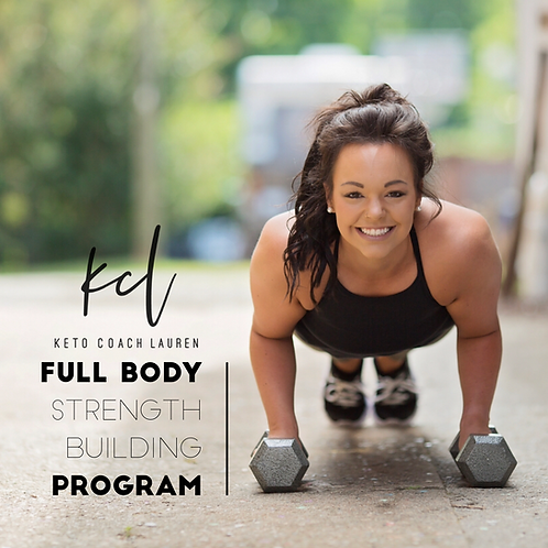 Full Body Strength Building Program