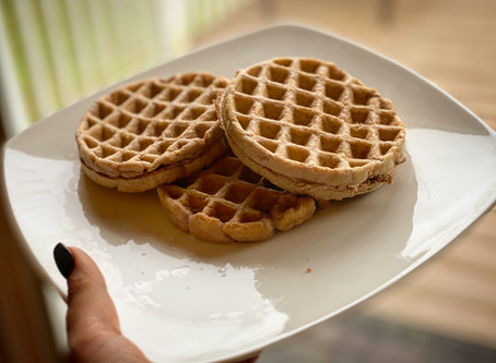 Easy Protein Waffles