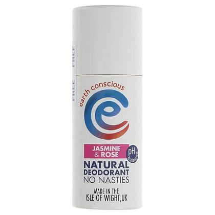 Earth Conscious Natural Deodorant - Jasmine + Rose