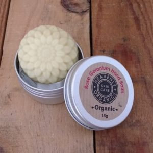 Heavenly Organics Orange, Rose Geranium  & Patchoili Hand Balm