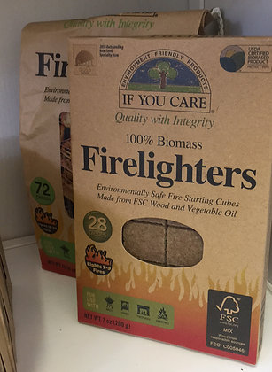 If you care Firelighters x 72