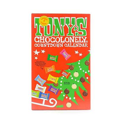 Tony's Chocolonely Advent Calendar