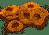 Dried Apple rings 100g