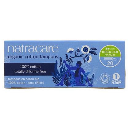 Natracare Tampons No Applicator -Regular