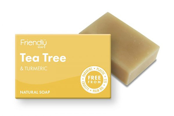 Friendly Soap - Tea Tree + Tumeric