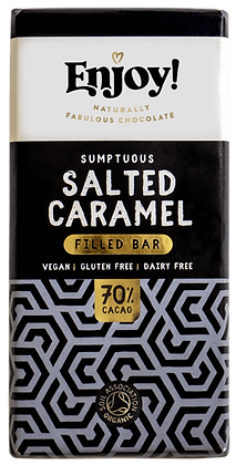 Enjoy Salted Caramel Chocolate Bar