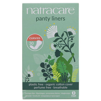 Natracare Panty Liner - Curved