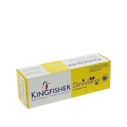 Kingfisher Children's Strawberry Toothpaste 75ml